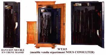 armoire fusil rangement pour arme pictures. Black Bedroom Furniture Sets. Home Design Ideas